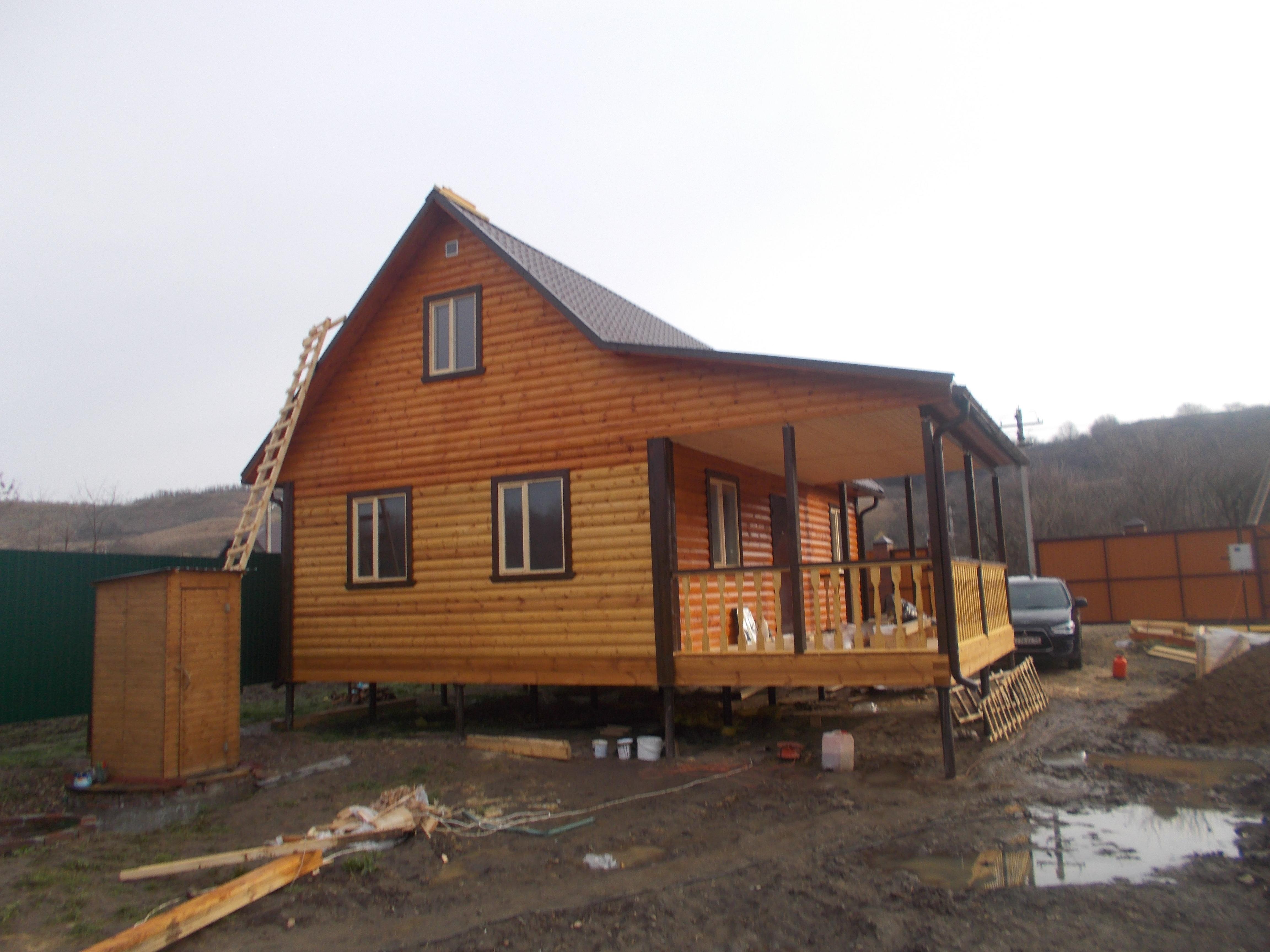 Строительство каркасного дома в Краснодарском крае